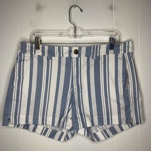 NWT Mid-rise everyday short. Striped. Size 12